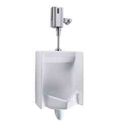 "TOTO UT447E Commercial Washout High Efficiency Urinal with 3/4"" Top Spud Inlet, 0.5 GPF - ADA"
