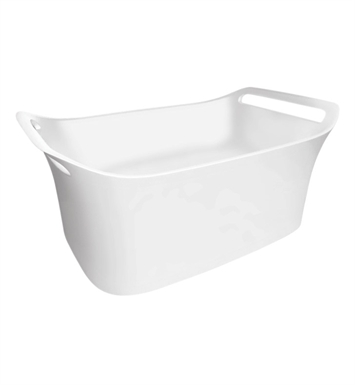 Hansgrohe 11302000 Axor Urquiola Vessel Sink, Wall Mounted in White
