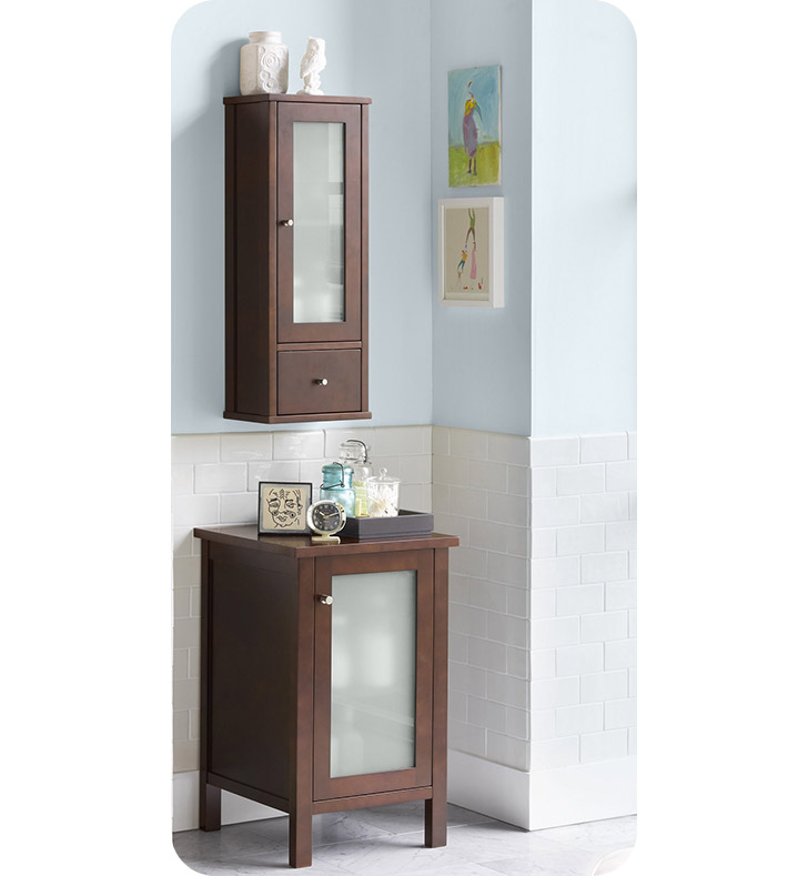 "Ronbow 687032h01 Contemporary 32"" Bathroom Wall Cabinet"