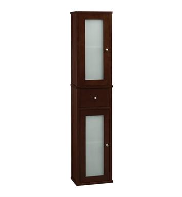 Ronbow 687156 H01 Tall 55 Bathroom Wall Cabinet In Dark