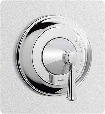 TOTO TS220P1#BN Vivian™ Pressure Balance Valve Trim with Lever Handle With Finish: Brushed Nickel