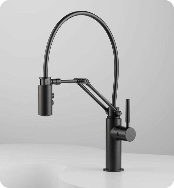 brizo 63221lf brizo solna single handle articulating solna kitchen brizo faucet single handle pullout spray