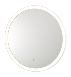 Aptations 36 Sergena Round LED Wall Mirror with Touch Sensor