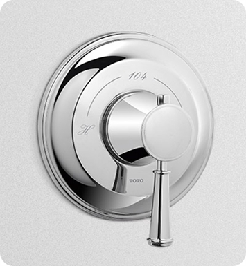 TOTO TS220T#PN Vivian™ Thermostatic Mixing Valve Trim With Finish: Polished Nickel