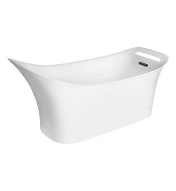 Hansgrohe 11440000 Axor Urquiola Freestanding Tub in White