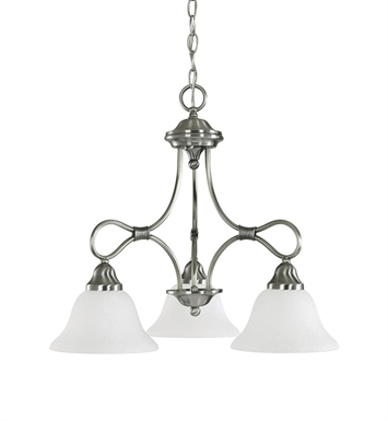 Kichler 2556 Stafford Collection Chandelier 3 Light