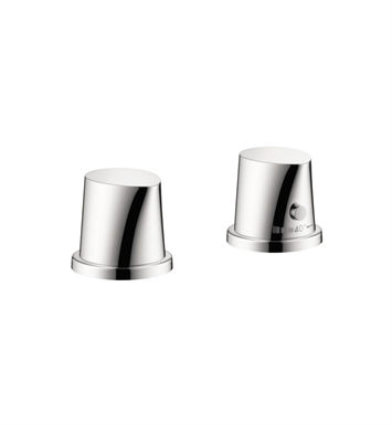 Hansgrohe 12422001 Axor Starck Organic 2 Hole Thermostatic Roman Tub Set Trim in Chrome