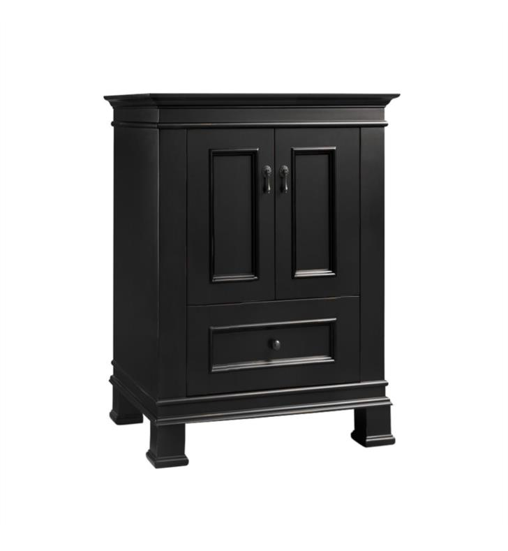 Ronbow 067324 B01 Venice Traditions 24 Bathroom Vanity Cabinet Base In Antique Black