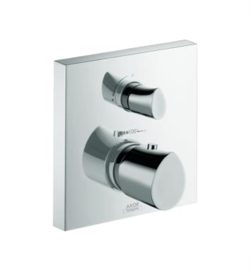 "Hansgrohe 12716001 Axor Starck Organic 6 3/4"" Thermostatic Trim with Volume Control and Diverter in Chrome"
