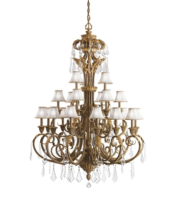 Kichler Ravenna Collection Chandelier 21 Light in Ravenna