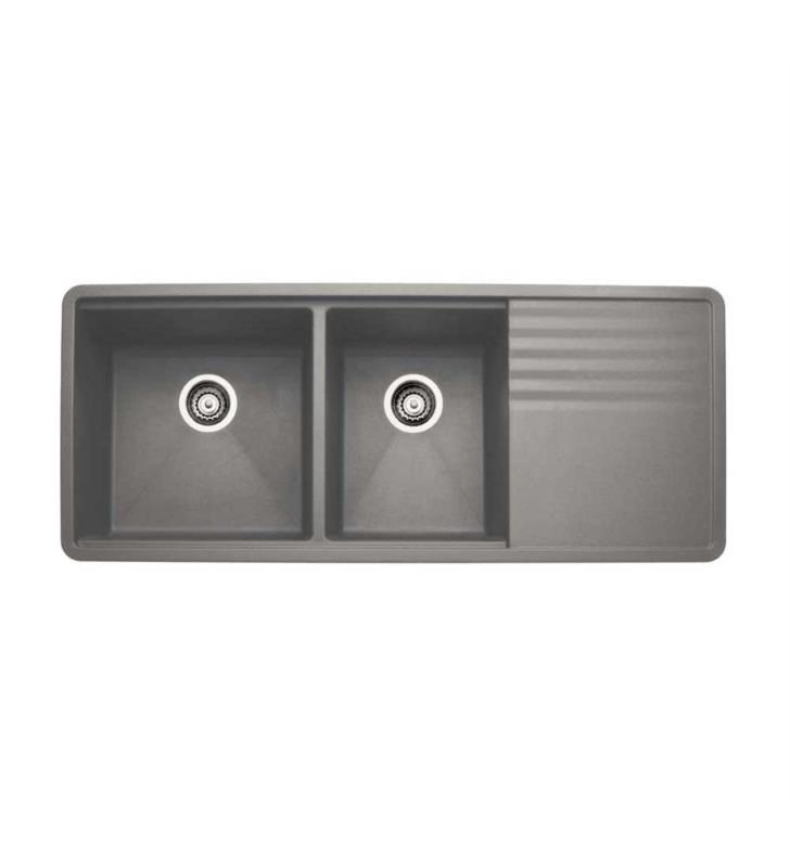 Blanco 440411 Precis 48 Quot Double Bowl Undermount Silgranit