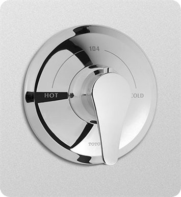 TOTO TS230T#CP Wyeth™ Thermostatic Mixing Valve Trim With Finish: Polished Chrome
