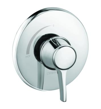 "Hansgrohe 15404921 Metris C 6 3/4"" Pressure Balance Trim With Finish: Rubbed Bronze"