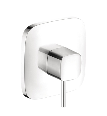Hansgrohe 15407401 PuraVida Pressure Balance Trim With Finish: White/Chrome