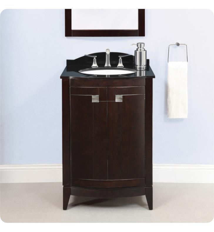 Decolav 5240 Esp Gavin 24 Espresso Bathroom Vanity Without Countertop