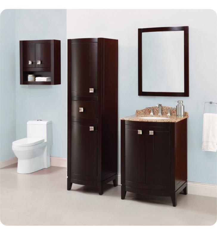 Decolav 5242 Esp Gavin 36 Espresso Bathroom Vanity Without Countertop