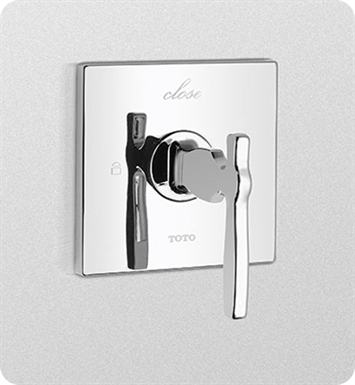 TOTO TS626D2#CP Aimes® Two-Way Volume Control Trim With Finish: Polished Chrome