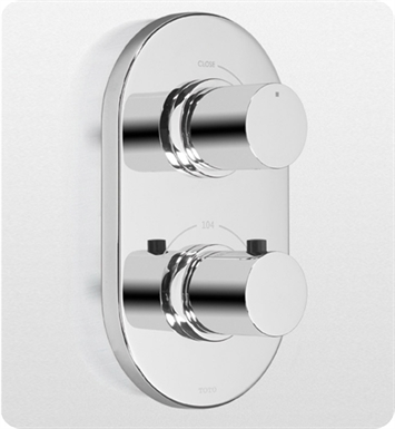 TOTO TS794C#PN Nexus® Thermostatic Mixing Valve Trim with Single Volume Control With Finish: Polished Nickel