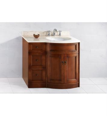 ronbow 060624 621212r f11 marcello 36 bathroom vanity set in colonial cherry w right side sink. Black Bedroom Furniture Sets. Home Design Ideas
