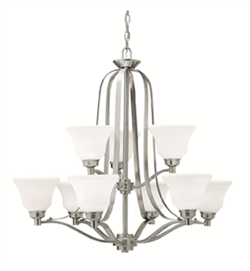 Kichler 1784OZ Chandelier 9 Light With Finish: Olde Bronze
