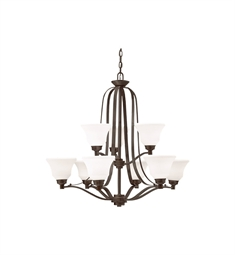 Kichler Chandelier 9 Light in Olde Bronze