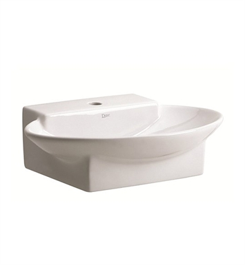 Danze DC037341WH Ziga Zaga® Deck Vessel Sink in White