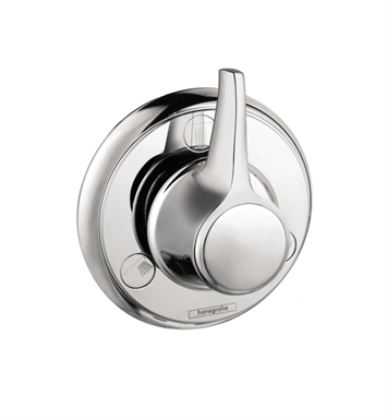 Hansgrohe 15934831 C Trio Quattro Diverter Trim With Finish: Polished Nickel