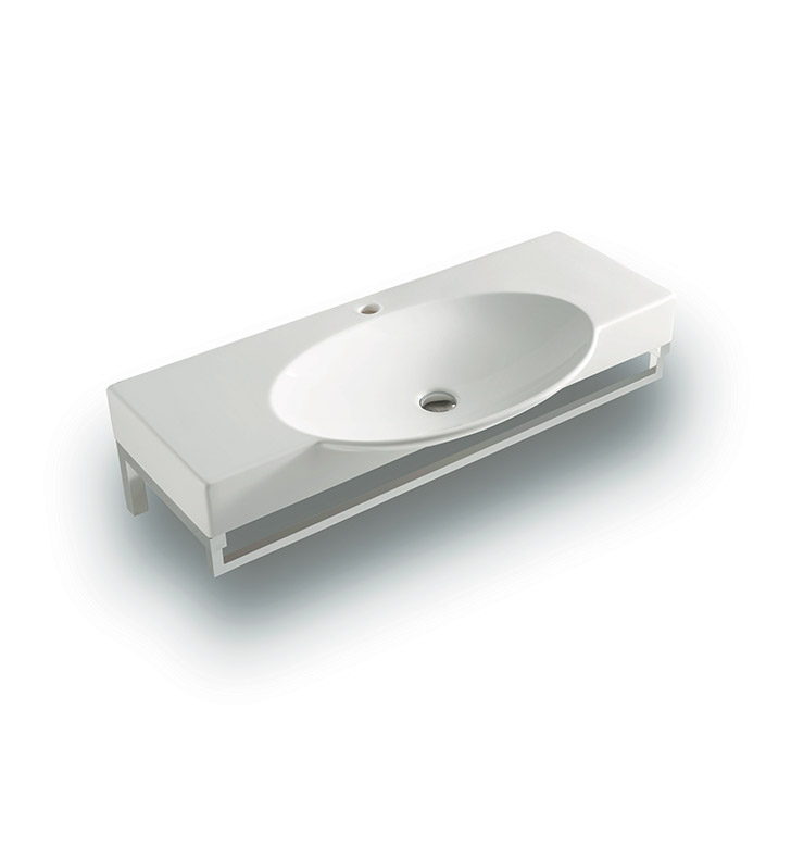 ... L1180 Swing Wall Mount Above Counter Sink with Optional Towel Bar