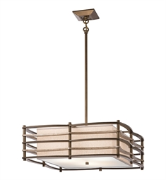 Kichler 42098CMZ Moxie Collection Pendant 3 Light in Cambridge Bronze