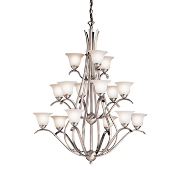 Kichler 2523 Dover Collection Chandelier 15 Light