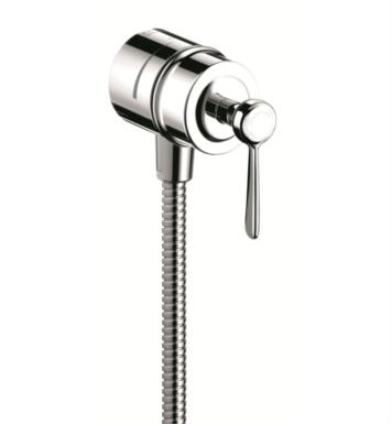 "Hansgrohe 16883821 Axor Montreux 2 3/8"" Fix Fit Wall Outlet with Lever Handle With Finish: Brushed Nickel"