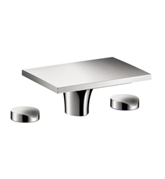 Hansgrohe Axor Massaud Widespread Faucet without Pop Up in Chrome