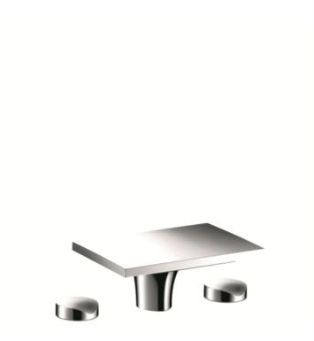 "Hansgrohe 18015001 Axor Massaud 5 5/8"" Double Handle Widespread/Deck Mounted Bathroom Faucet in Chrome"