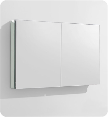 "Fresca FMC8010 40"" Wide Bathroom Medicine Cabinet with Mirrors"