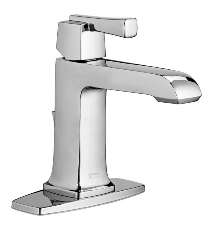 7 Faucet Finishes For Fabulous Bathrooms: American Standard 7353101.295 Townsend Single-Handle