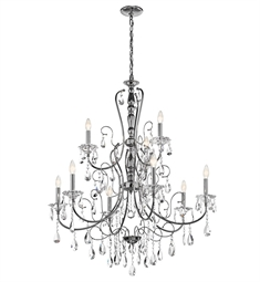 Kichler Jules Collection Chandelier 9 Light in Chrome
