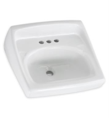 American Standard 0355041 020 Lucerne Wall Hung Sink Throu