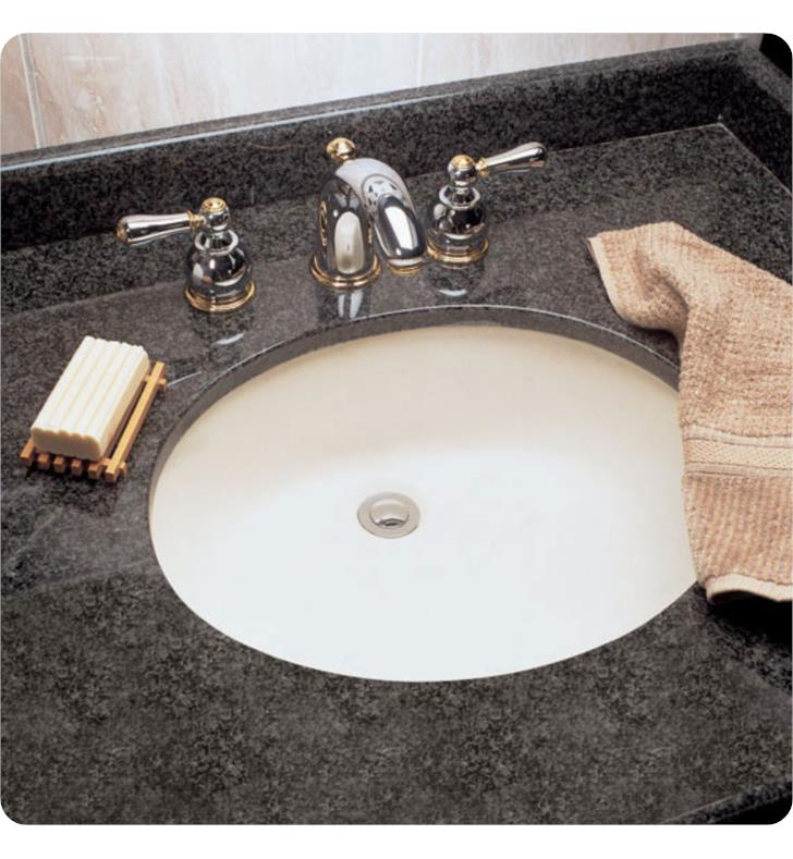 American Standard 0497221 Ovalyn 19 Inch Undermount Porcelain Bathroom Sink