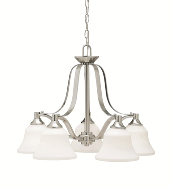 Kichler 1782NI Chandelier 5 Light in Brushed Nickel