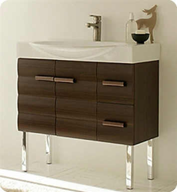 LaToscana 7134 Onda 85 Collection Wenge Modern Bathroom Vanity