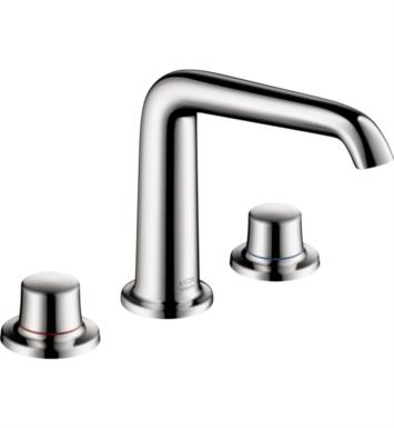 "Hansgrohe 19141001 Axor Bouroullec 6 5/8"" Double Handle Widespread/Deck Mounted Bathroom Faucet in Chrome"