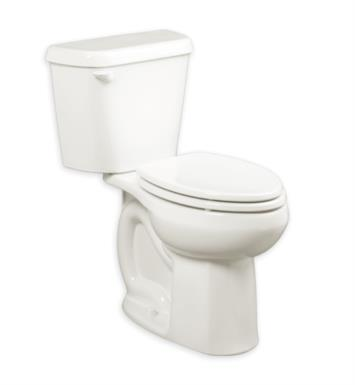 American Standard 221AA004.020 Colony Right Height Elongated 12 Inch Rough- In 1.6 gpf Toilet With Finish: White