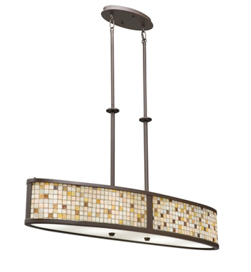 Kichler 65380 Blythe Collection Inverted Pendant 4 Light Incandescent in Olde Bronze