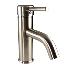 Fresca FFT1041BN Sillaro Single Hole Mount Bathroom Faucet in Brushed Nickel
