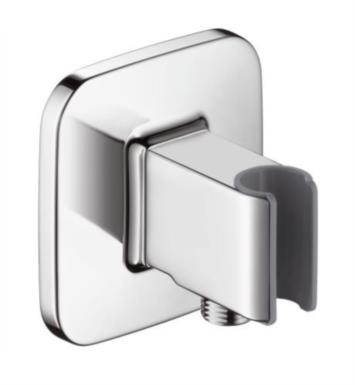 "Hansgrohe 19622001 Axor Bouroullec 4"" Wall Mount Porter with Outlet in Chrome"