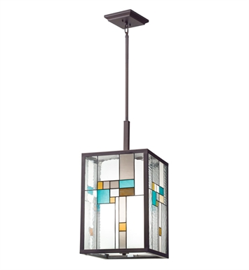 Kichler 65391 Caywood Collection Pendant 4 Light in Olde Bronze