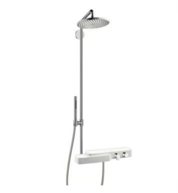"Hansgrohe 19670401 Axor Bouroullec 43 7/8"" Shower Set with Showerhead and Shelves in Chrome"