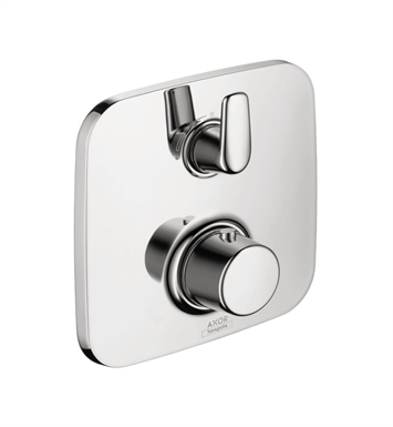 Hansgrohe 19704001 Axor Bouroullec Thermostatic Trim with Volume Control in Chrome