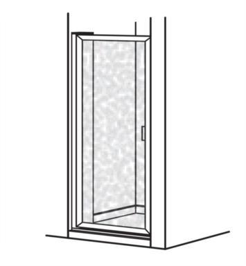American standard prestige framed pivot for Bathroom door parts