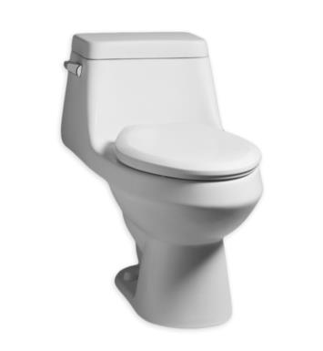 American Standard 2862058.020 Fairfield Elongated One-Piece Toilet with Seat in White